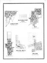 Jamestown, Rawsons Court, Ray, Metz, Nevada Mills, Orland, Steuben County 1912