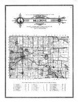 Millgrove Township, Orland, Oakdale, Steuben County 1912