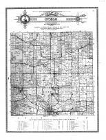 Otsego Township, Cold Springs, Hamilton, Otsego Center, Steuben County 1912