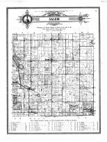 Salem Township, Salem Center, Turkey Creek, Helmer, Hudson, Steuben County 1912