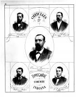 James W. Baird, James T. Chute, P.P. Cluver, Bennett Foresman, William Wilgus, Tippecanoe County 1878