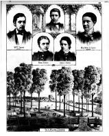 William T. Foster, Mrs. Mary E. Foster, Rosa I. Foster, Anna L. Foster, John C. Foster, Tippecanoe County 1878