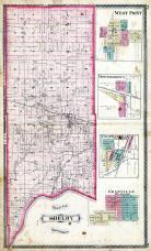 Shelby Township, West Point, Montmorency, Chapmanville, Colburn P.O., Granvillle, Ouattenon, Tippecanoe County 1878