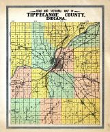 County Road and Sectional, Tippecanoe County 1920c