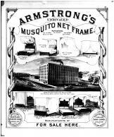 Armstrong's Furniture Manufactory, Vanderburgh County 1880