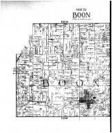 Boon Township - North, Lane Township, Boonville, Deforest, Scalesville - Left, Vanderburgh and Warrick Counties 1899