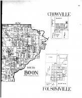 Boon Township - South, Pelzer P.O., Crowville, Folsomville - Right, Vanderburgh and Warrick Counties 1899