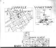 Hart Township, Yankeetown, Lynnville, Stanley, Eby - Above, Vanderburgh and Warrick Counties 1899