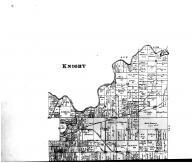 Knight Township - Above, Vanderburgh and Warrick Counties 1899