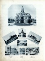 Vigo County Courth House, Infirmagy, City Hall, Old Fort Harrison, Jail, Washburn Avenue, Forest Park