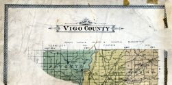 County Outline, Vigo County 1895