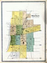 Terre Haute City - Index to Wards and Sections, Vigo County 1895