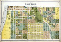 Terre Haute City - Sections 27, 28, Vigo County 1895