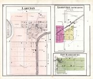 Laketon, Ijamsville, New Harrisburg, Wabash County 1875