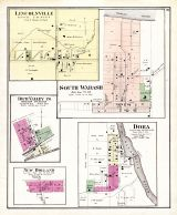 Lincolnville, South Wabash, Rich Valley, Dora, New Holland, Wabash County 1875