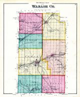 Sectional Map, Wabash County 1875