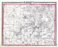 Liberty Township, Carbondale P.O., Warren County 1877