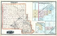 Steuben, Illiana, State Lie City, Johnsonville, Marshfield, Warren County 1877