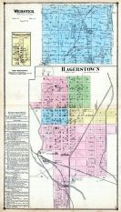 Webster, Hagerstown, Wayne County 1874
