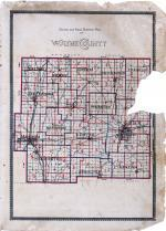 County School and Road District Map, Wayne County 1893