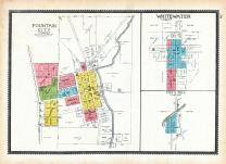 Fountain City, Whitewater, Cox's Mill, Wayne County 1893