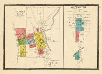 Fountain City, Whitewater, Cox's Mill Z, Wayne County 1893