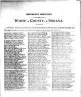 White County Historical Reference Directory 1
