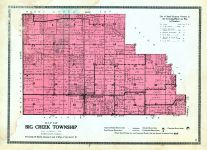 Big Creek Township, White County 1920