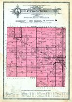 Monon Township - West Half, White County 1920