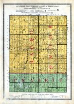 Round Grove Township, Prairie Township - Part of, White County 1920