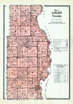 Logan Township, Allen County 1921