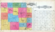 Outline Map, Township 31 S., Range 10 W., Barber County 1923