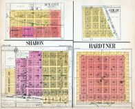 Sun City, Sharon, Gerlane, Hardtner, Barber County 1923