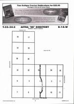 Aetna Township - Northeast, Directory Map, Barber County 2006
