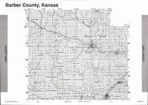 Barber County Map, Barber County 2006