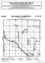 Elm Mills - East, Directory Map, Barber County 2006