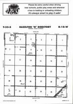 Hazelton  Township - North, Directory Map, Barber County 2006