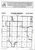 Mcadoo Township Directory Map, Barber County 2006