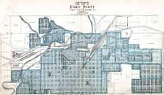 Fort Scott City - North, Bourbon County 1920