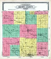 County Map, Brown County 1919