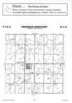 Chapman Township, Longford, Directory Map, Clay County 2006