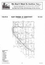 Clay Center Township - South, Directory Map