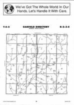 Garfield Township Directory Map, Clay County 2006