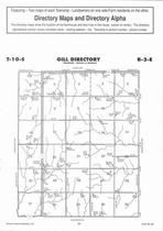 Gill Township Directory Map, Clay County 2006