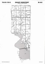 Grant Township, Milford Lake, Directory Map, Clay County 2006