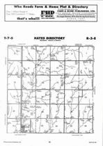 Hayes Township, Clay Center, Directory Map, Clay County 2006