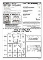 Index Map, Clay County 2007