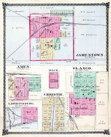 Jamestown, Ames, Rice, Glasco, Lawrenceburg, Christie, Cloud County 1885