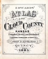 Title Page, Cloud County 1885