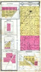 Aliceville, Crotty, Agricola, Strawn, Halls Summit, Part of Townships 22 and 23 S., Range 17 E., Coffey County 1919